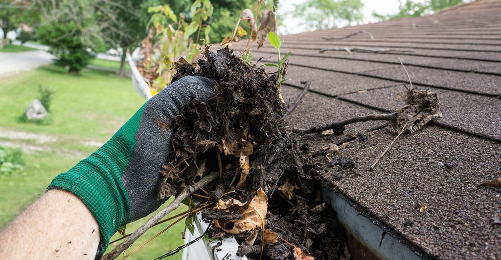 A roof gutter cleaner in Douglasville, GA