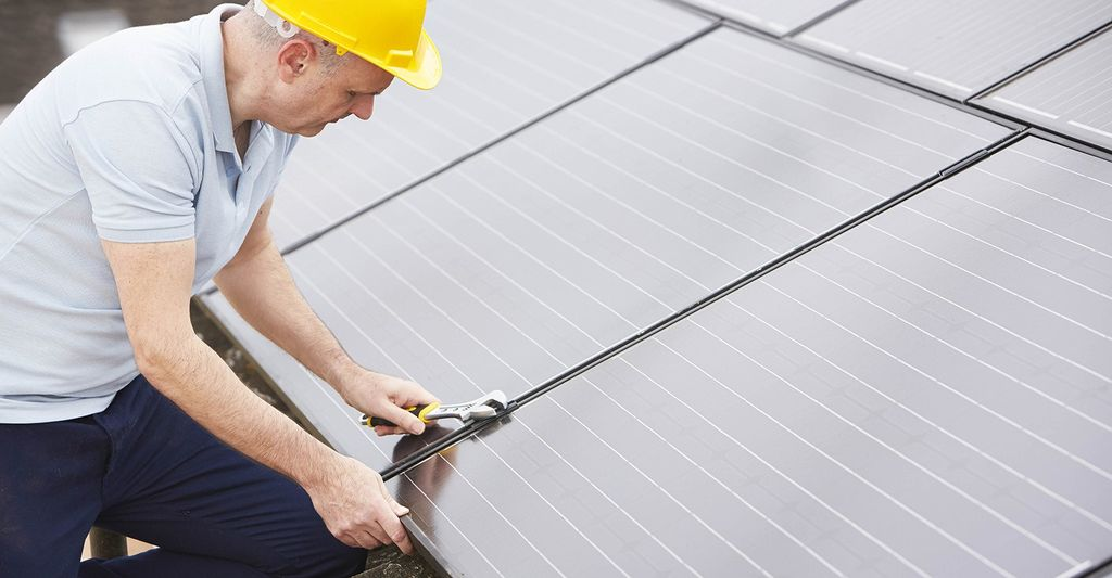Find a solar panel repair professional near you