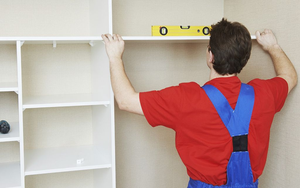 Closet and Shelving System Installation