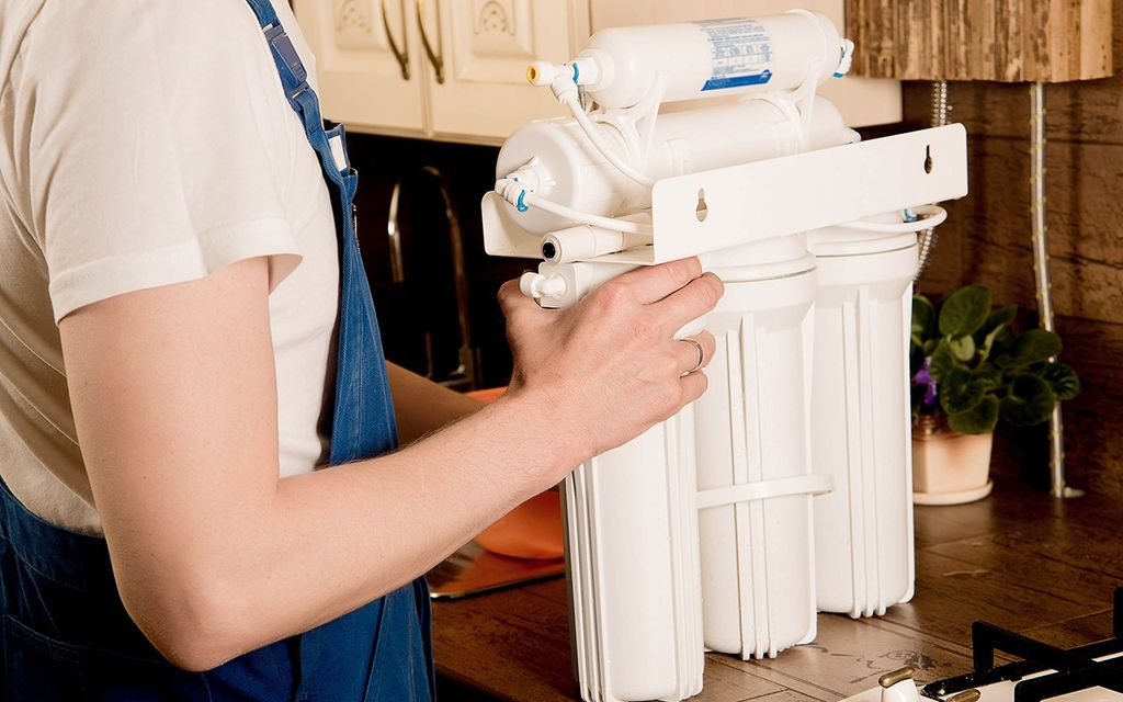 Water softener installation cost