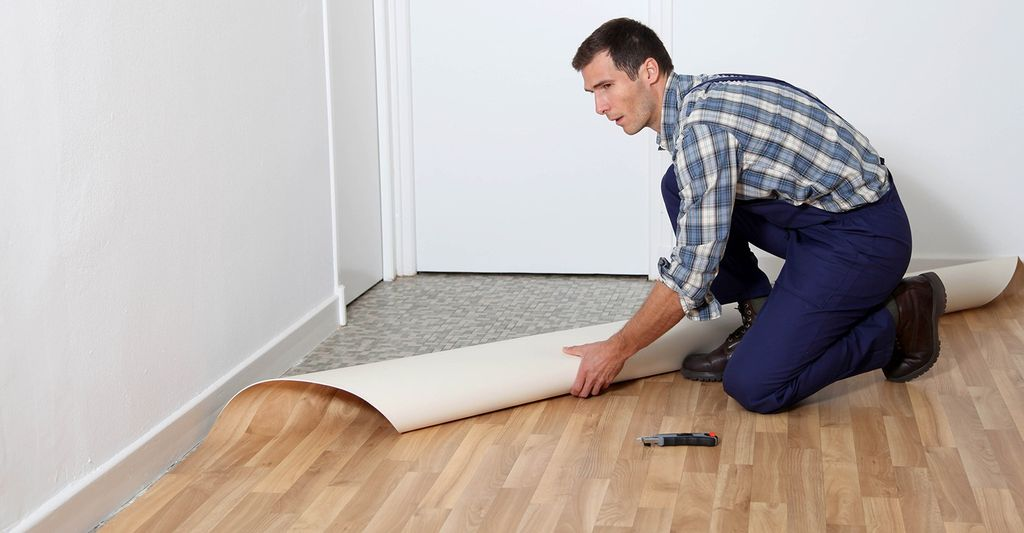 Find a vinyl floor repair contractor near Rogers, AR