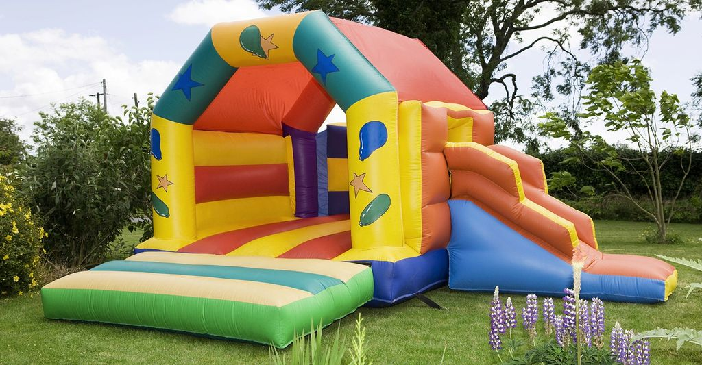 A kids bounce house rental in Denver, CO