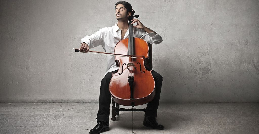 A cello instructor in Golden, CO