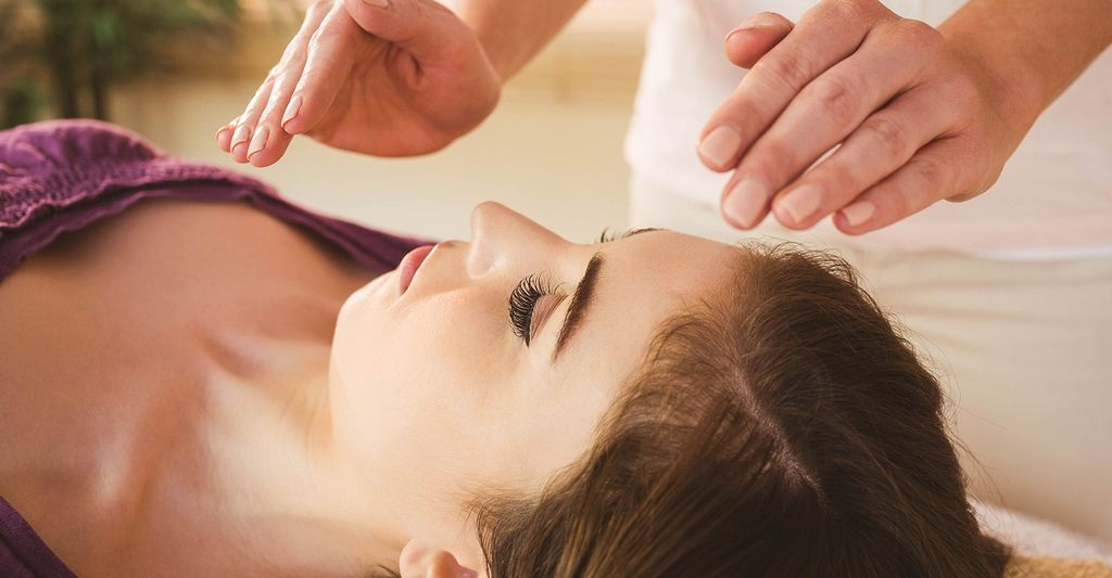 A Reiki master in Cambridge, MA