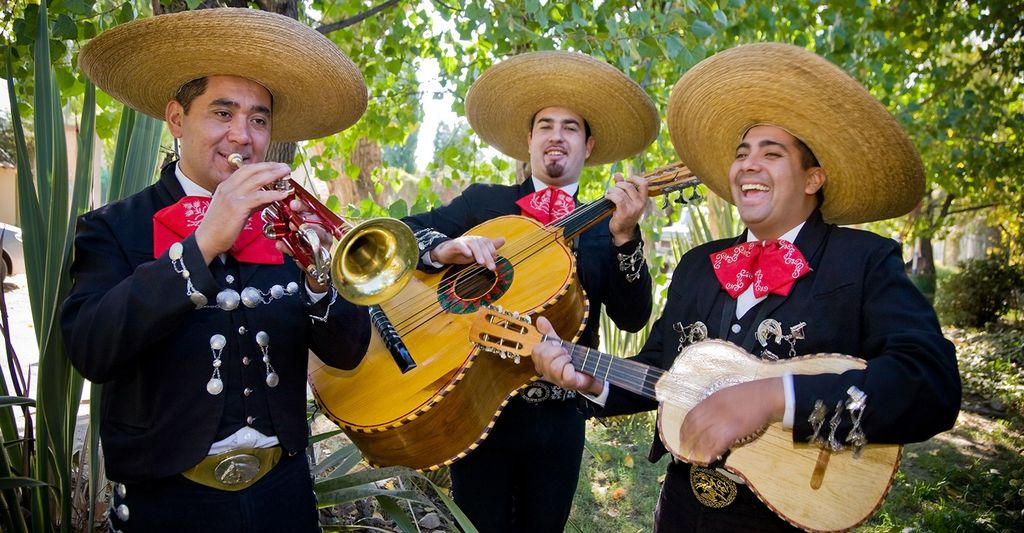 A mariachi band in Plainfield, NJ