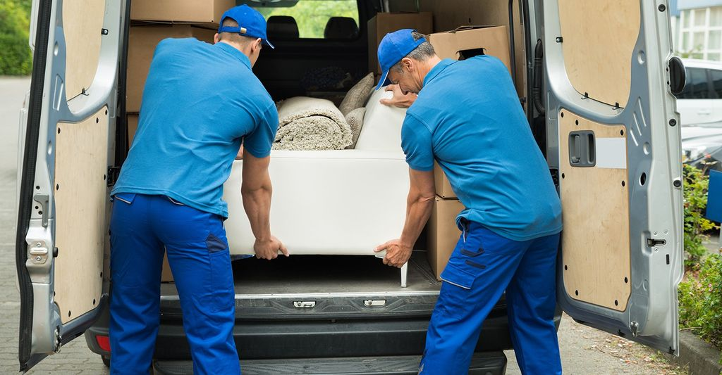 A furniture deliverer in Moreno Valley, CA