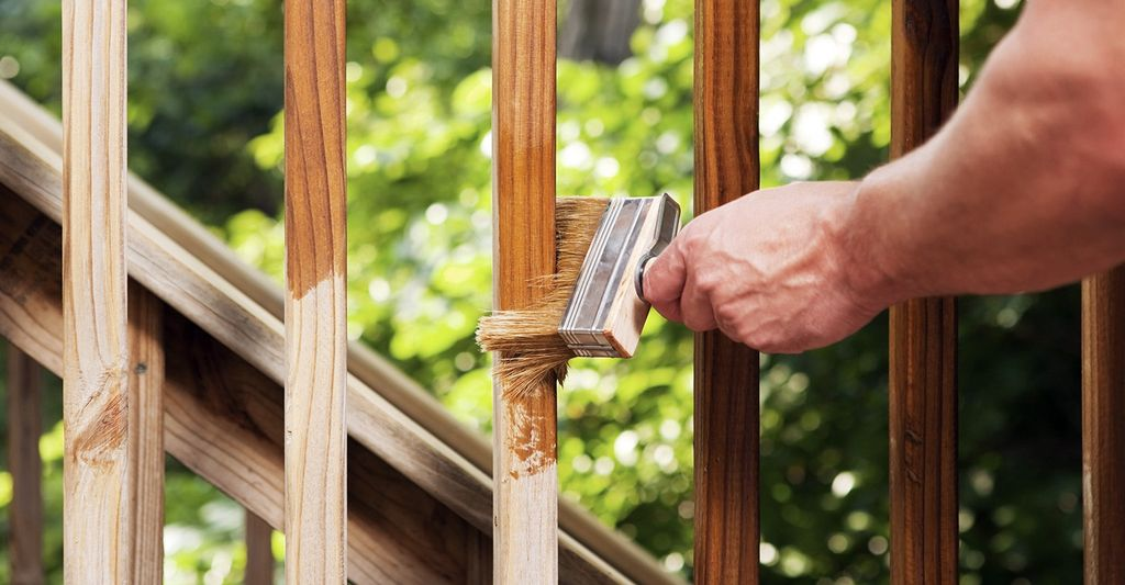 Find a deck staining professional near North Arlington, NJ