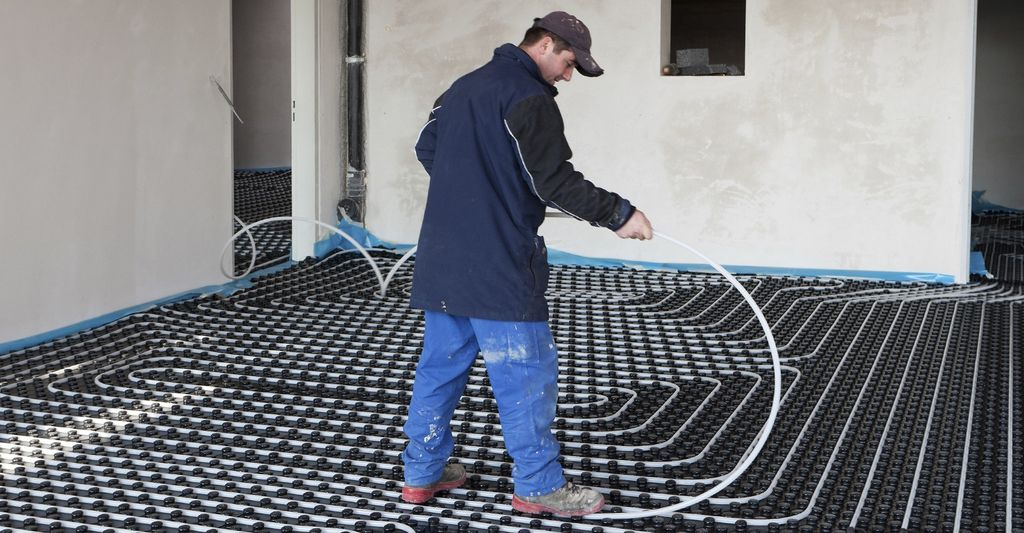 A heated floor installer in Dover, DE