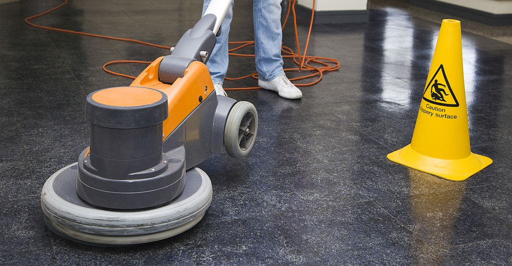 Find a floor buffing service near Alexandria, VA