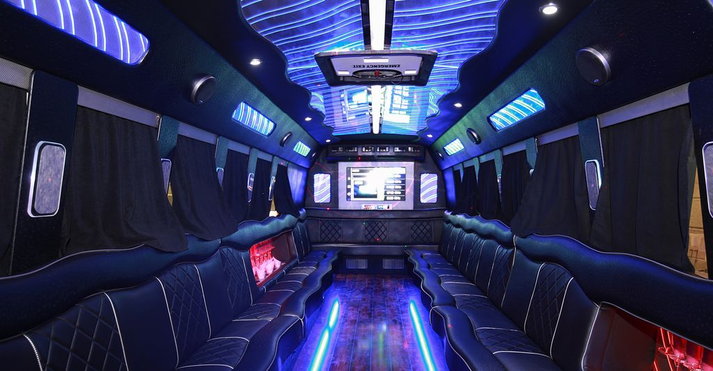 Find a party bus professional near Cross Country, MD