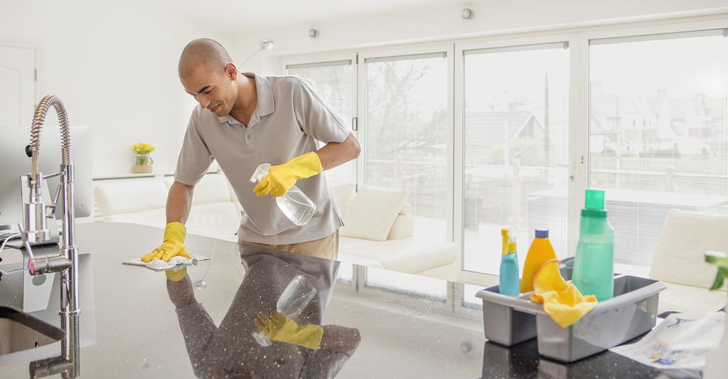 A general cleaning professional in Old Fourth Ward, GA
