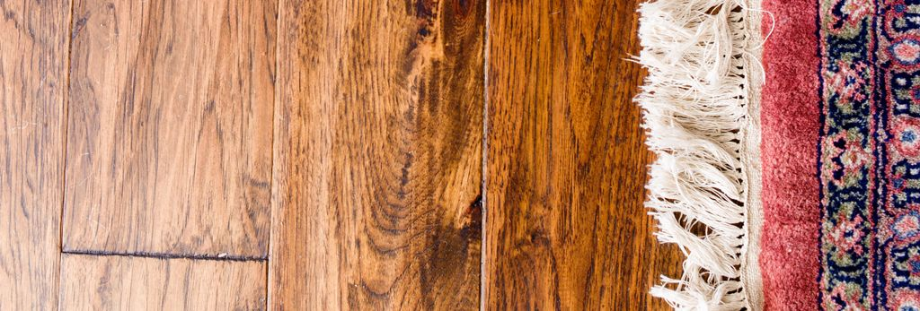 A hardwood floor refinisher in Lynchburg, VA