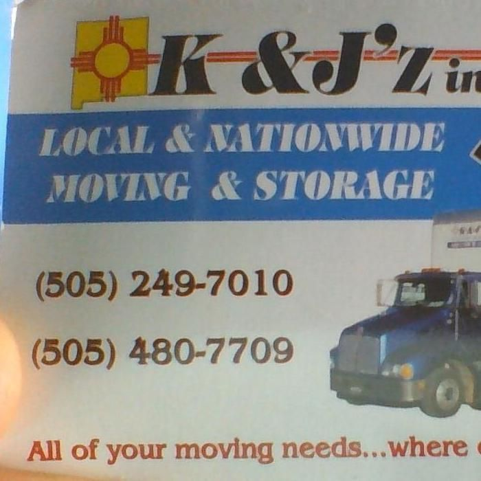 K and J'z Moving and Storage