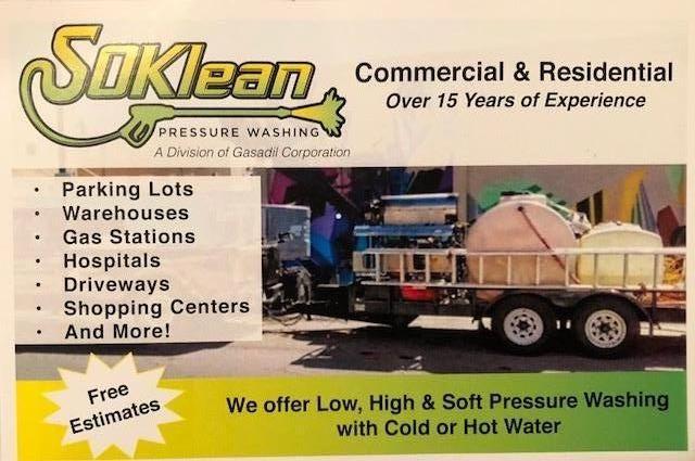 SoKlean Pressure Washing