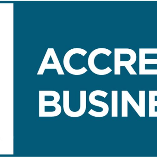 We are proud to announce that we are now an accredited business with the BBB and hold an a+ rating.   We believe in treating our customers right, and doing business the ethical and right way!