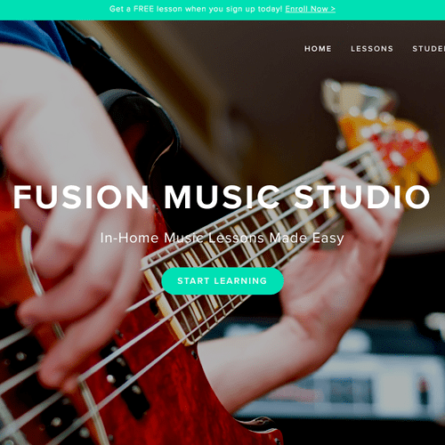 In-home music lessons made easy!