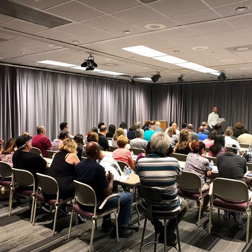Retirement & Social Security Seminar at Mount San Antonio College. July 2018