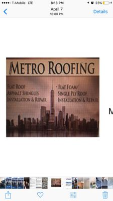 Avatar for Metro roofing