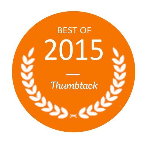Best of 2015 Thumbtack Award 🏆
