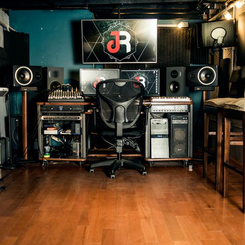 Main studio control room