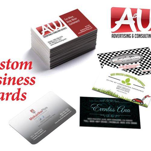 Custom logos & business cards