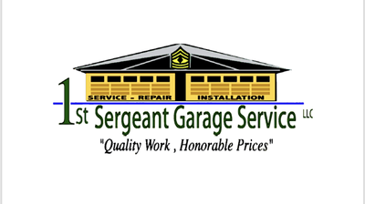 Avatar for 1st Sergeant Garage Service