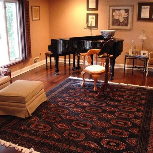 Piano Room Hardwood - After