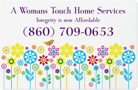 A Woman's  Touch Home services