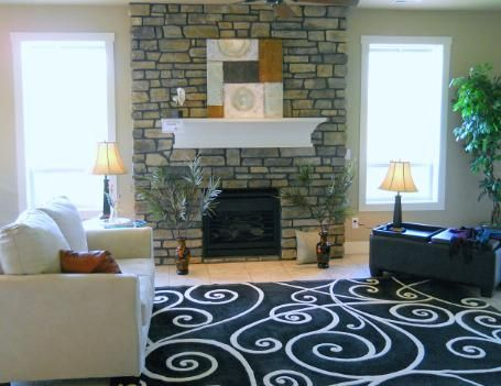 Staged by Presentations Home Staging, this home has a brand new feel, a modern twist, and old time charm