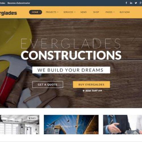 Everglades Construction Website