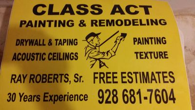 Avatar for Class Act Painting & Remodeling