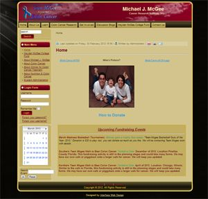 National Cancer Institute Website Florida and Chicago based Non Profit