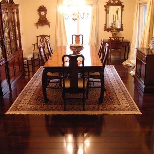 Dining Room Hardwood - After