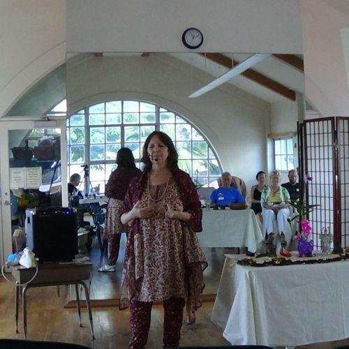 Speaking at One Spirit Center for Spiritual Living