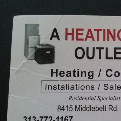 Avatar for HEATING AND COOLING OUTLET Westland, MI Thumbtack