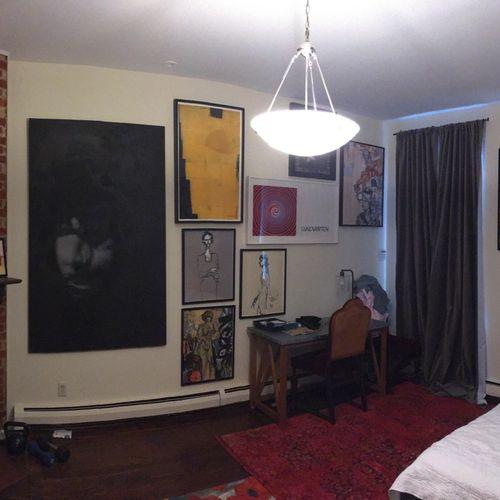 Salon style 2 - layout by AEI