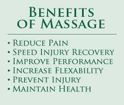 Massage has many benefits from reducing stress/anxiety to helping someone sleep better/longer.