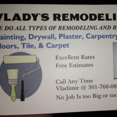 Avatar for Vlady's handyman Rockville, MD Thumbtack