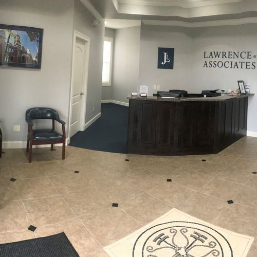 Lawrence & Associates - Ohio Reception Area
