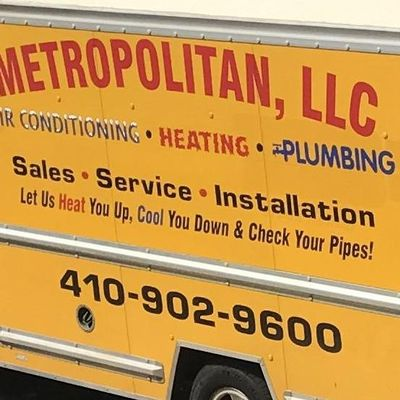 Avatar for Metropolitan Plumbing, Heating & Air Conditioning LLC Owings Mills, MD Thumbtack