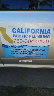 Avatar for CALIFORNIA PACIFIC PLUMBING Escondido, CA Thumbtack