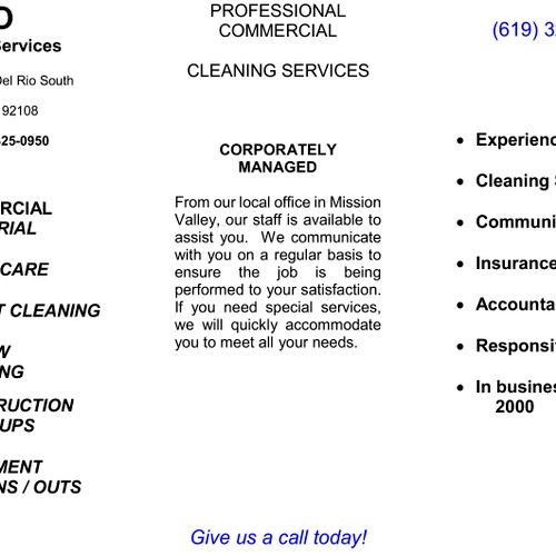 About our Company and Services