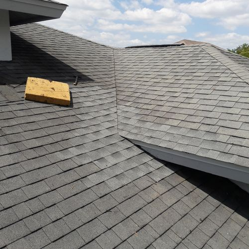 Repair Completed Shingle Roof