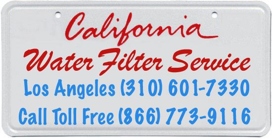 California Water Filter Service