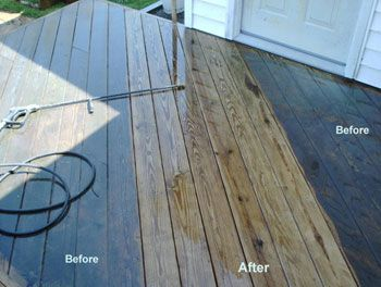 We will Clean and Seal your Wooden Deck or Porch