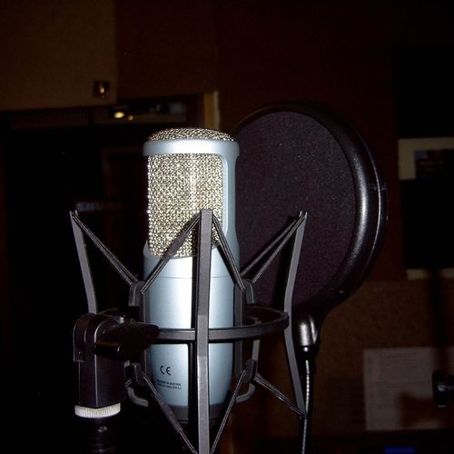 One of our many studio grade Microphones.
