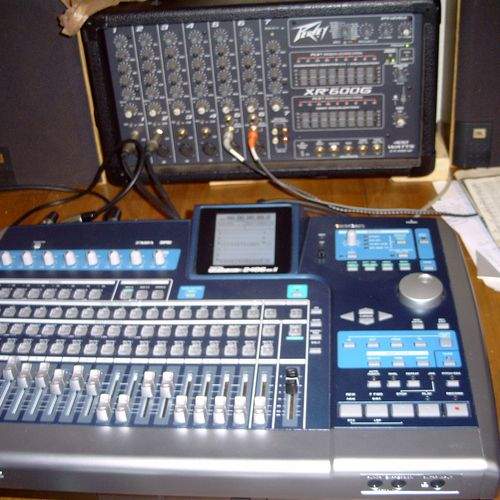 One of two 24 track recorders.