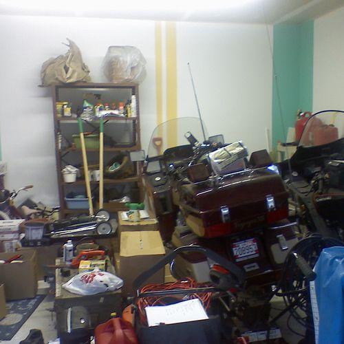 Garage - totally unorganized