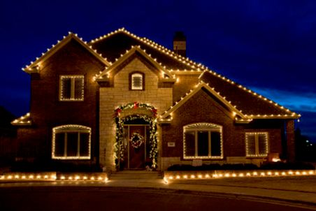 Holiday Lighting Hung on your home or shrubs.  Give your spouse a gift this year, have someone else hang them.  We also do custom holiday lighting. Give the Johnstons Family team at Clear N Bright Windows call at (425) 486-5114.