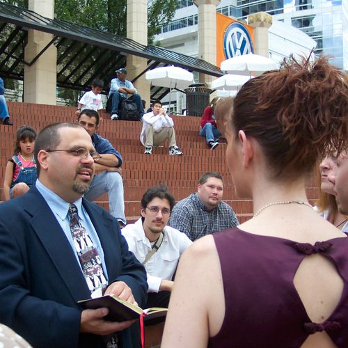 Pioneer Courthouse Square Wedding